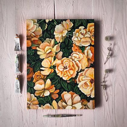 """Butter Flowers (18""""x 24"""")"""