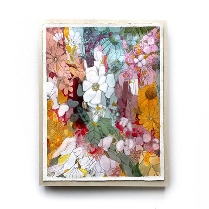 """Flower Sonnet (11""""x 14"""")"""