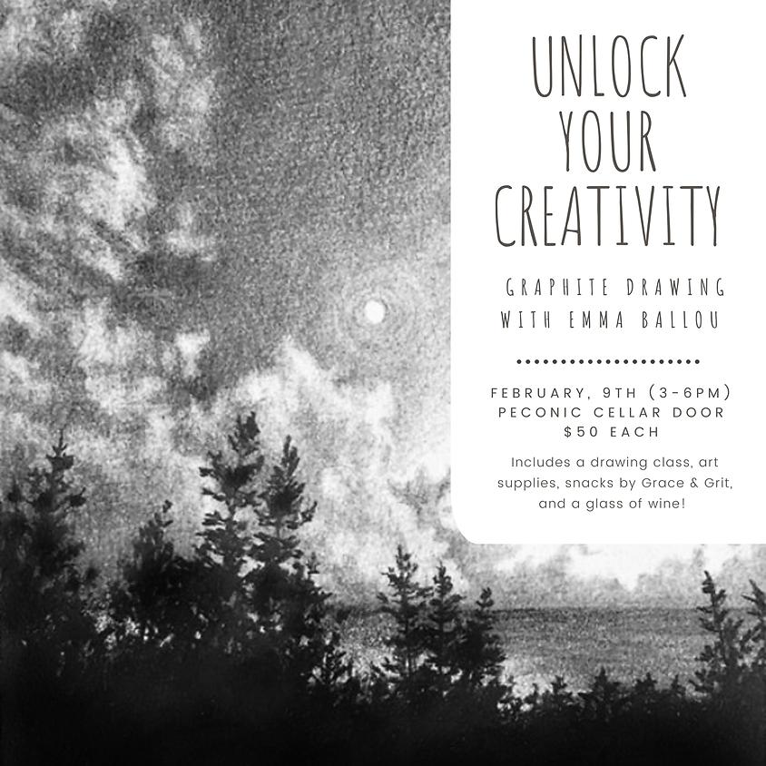 Drawing Class - Unlock Your Creativity