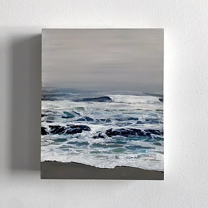 Misty Morning Waves (8 x 10)