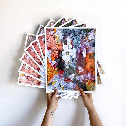 """Flower Sonnet 11""""x14"""" Print"""