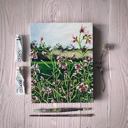 """Garden Jewels (11""""x 14"""")"""