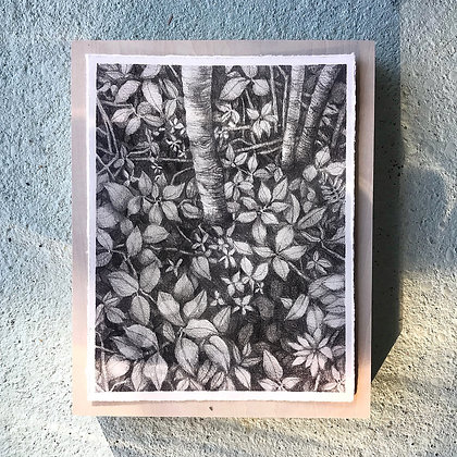 """Treasured Forest (8""""x10"""")"""