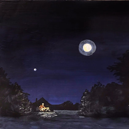 """""""Night Out"""" (6"""" x 6"""")"""