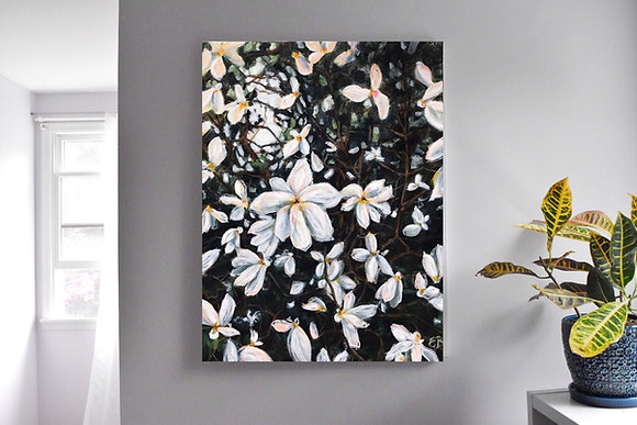 "Flower Bloom ( 30""x 40"")"