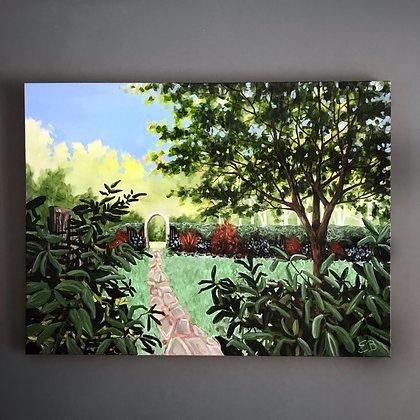 """The Gardener (30""""x 40"""")"""