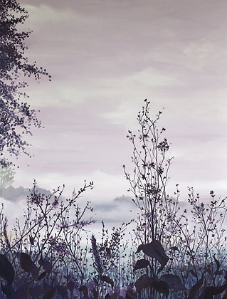 """A Beautiful Tangle of Withered Weeds (40""""x30"""")"""