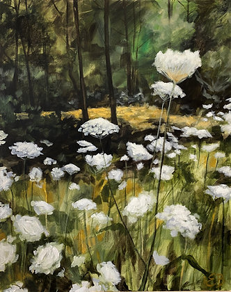Queen Anne's Lace - (24x30)