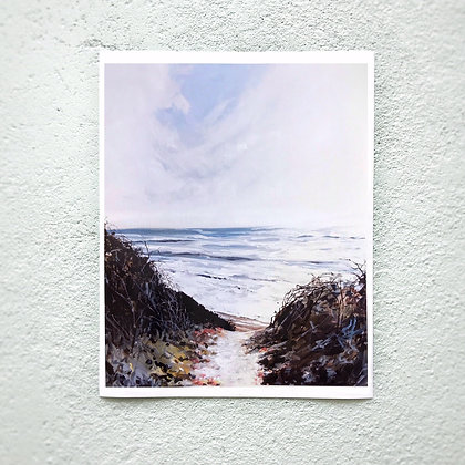 "Montauk Overlook 11""x14"" Print"