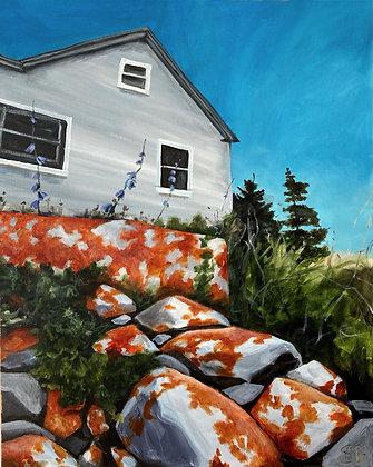 Coastal Cottage - (24x30)