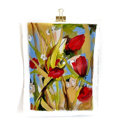 Red Tulips (8 x 10)