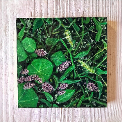 "The Grass Is Greener (6""x6"")"