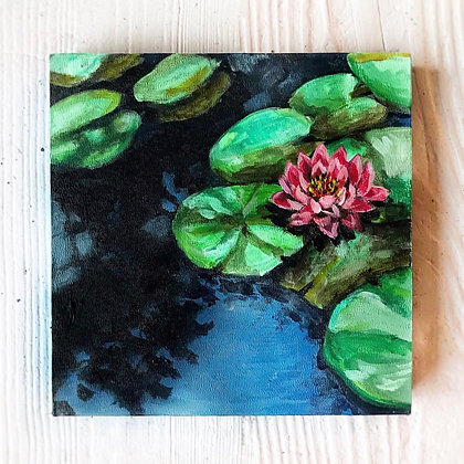 "Lily (6""x6"")"