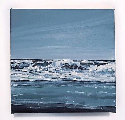 """Sea Stroll  (8""""x8"""")"""