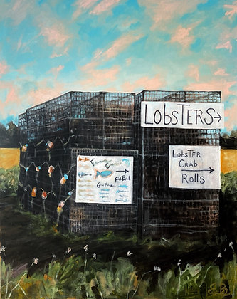 Lobster Traps - (24x30)