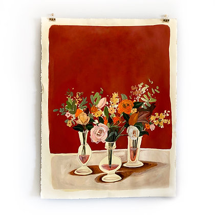 Bold Bouquets (22 x 30)