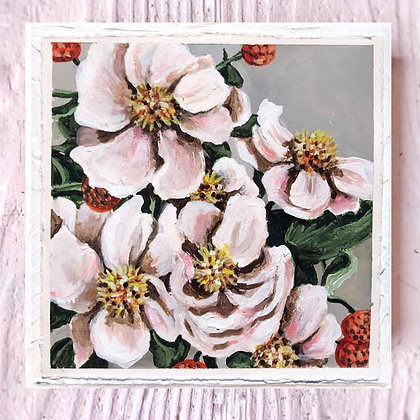 "Flower Power (6""x6"")"