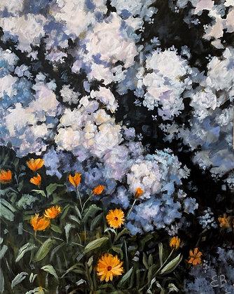 Cottage Garden - (24x30)