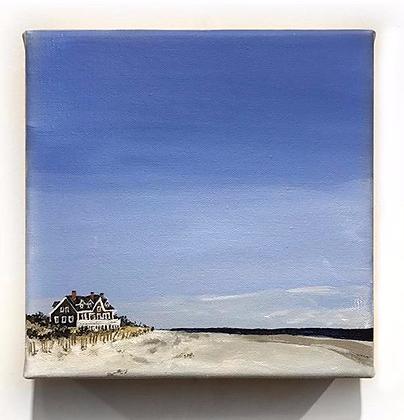 "The Hamptons (8""x8"")"