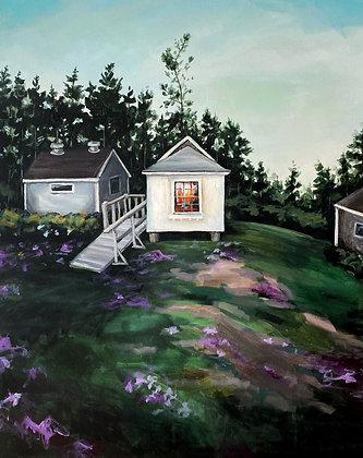 Trailing Yew Cabin - (24x30)