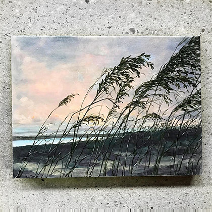"Fading Reeds (11""h x 14""w)"