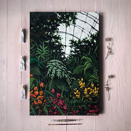 "Greenhouse Treasure (24""x 36"")"