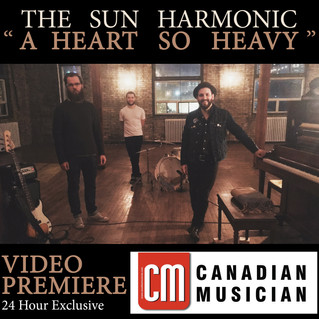 "Video Premiere! Canadian Musician Magazine debuts ""A Heart So Heavy"""