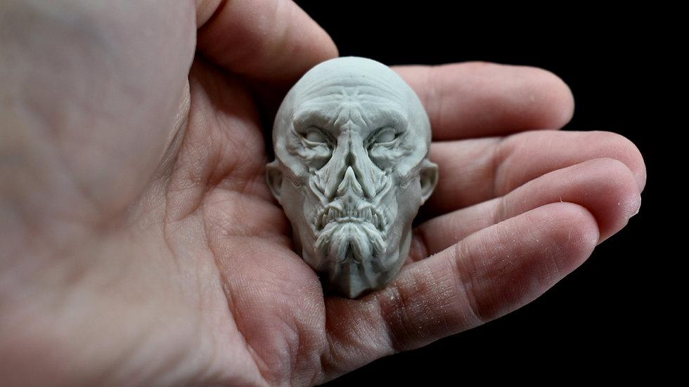 Vampyre Head Magnet
