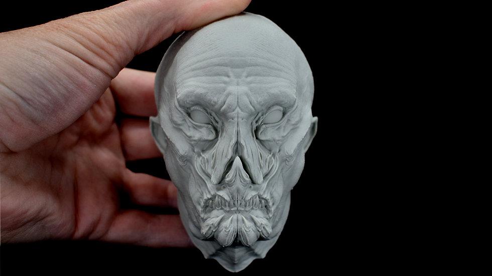 Vampyre Head Plaque