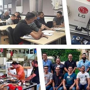 Treinamentos de Maio na Academia LG