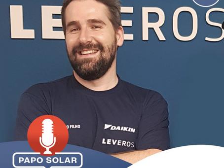 """Tiziano Filho está no podcast """"Papo Solar"""""""