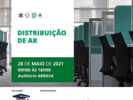 Inscrições abertas para o curso Distribuição de Ar