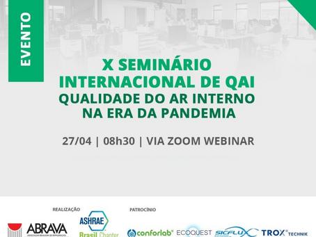 Evento internacional discute qualidade do ar