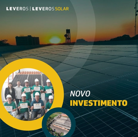 Leveros Solar atinge crescimento de 300% e anuncia novidades