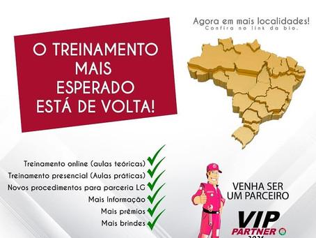 Inscrições abertas para treinamento VIP LG 2021