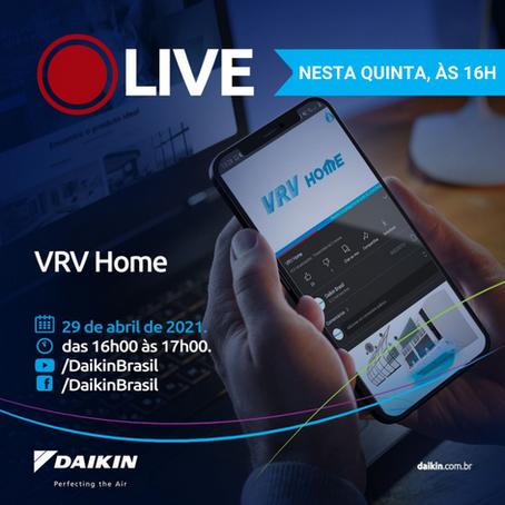 Live Daikin sobre VRV Home nesta quinta