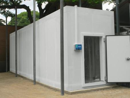 Frigelar doa câmara frigorífica para a secretaria do Rio Grande do Sul