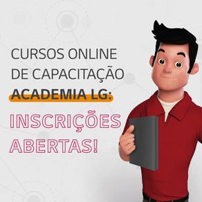 Treinamentos de Junho na Academia LG