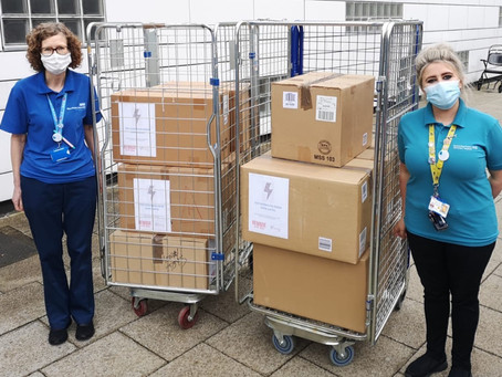 Toy Donation to NHS Hospitals