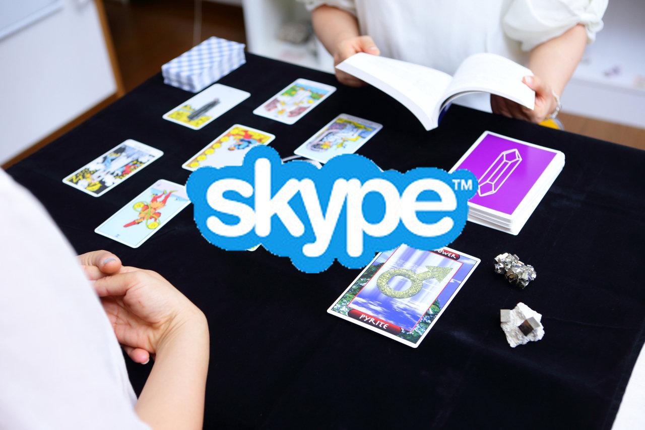 タロット+クリスタルタロット 占い (Skype)