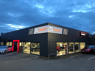 CUPRA SEAT Showroom, Motorvogue Northamp