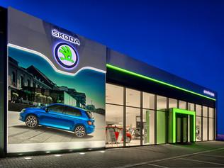 SKODA AUTO Showroom