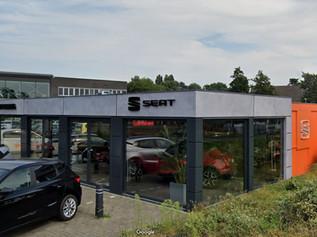 CUPRA SEAT showroom in Voorschoten, Netherlands