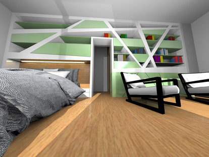 Master Bedroom of a Family House