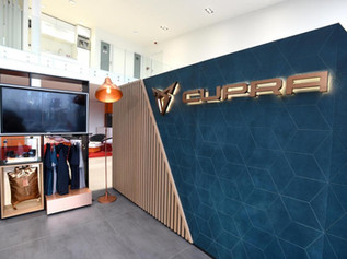 CUPRA Corner Installation, Prague