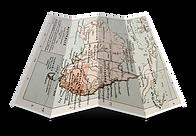 折りたたみ地図