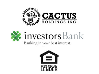 Cactus Holdings enters into agreements with Investors Bank for multiple financial services