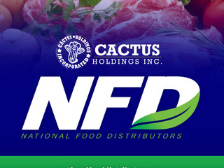 Cactus Holdings welcomes National Food Distributors to the New York market