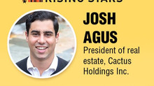 Cactus Holdings own President of Real Estate, Joshua Agus, recognized as Crain's New York's