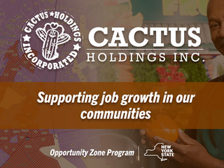 Cactus Holdings displays current Opportunity Zone holdings